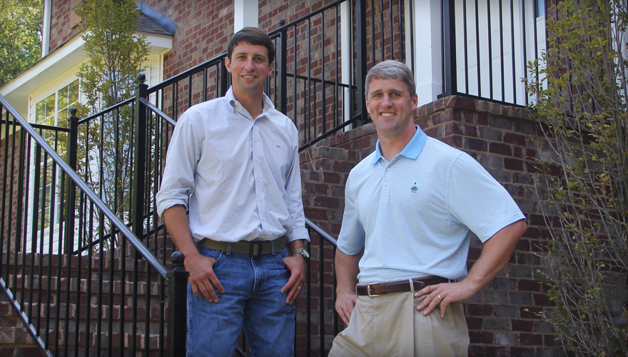 Brodie Croyle and Clint Johnston