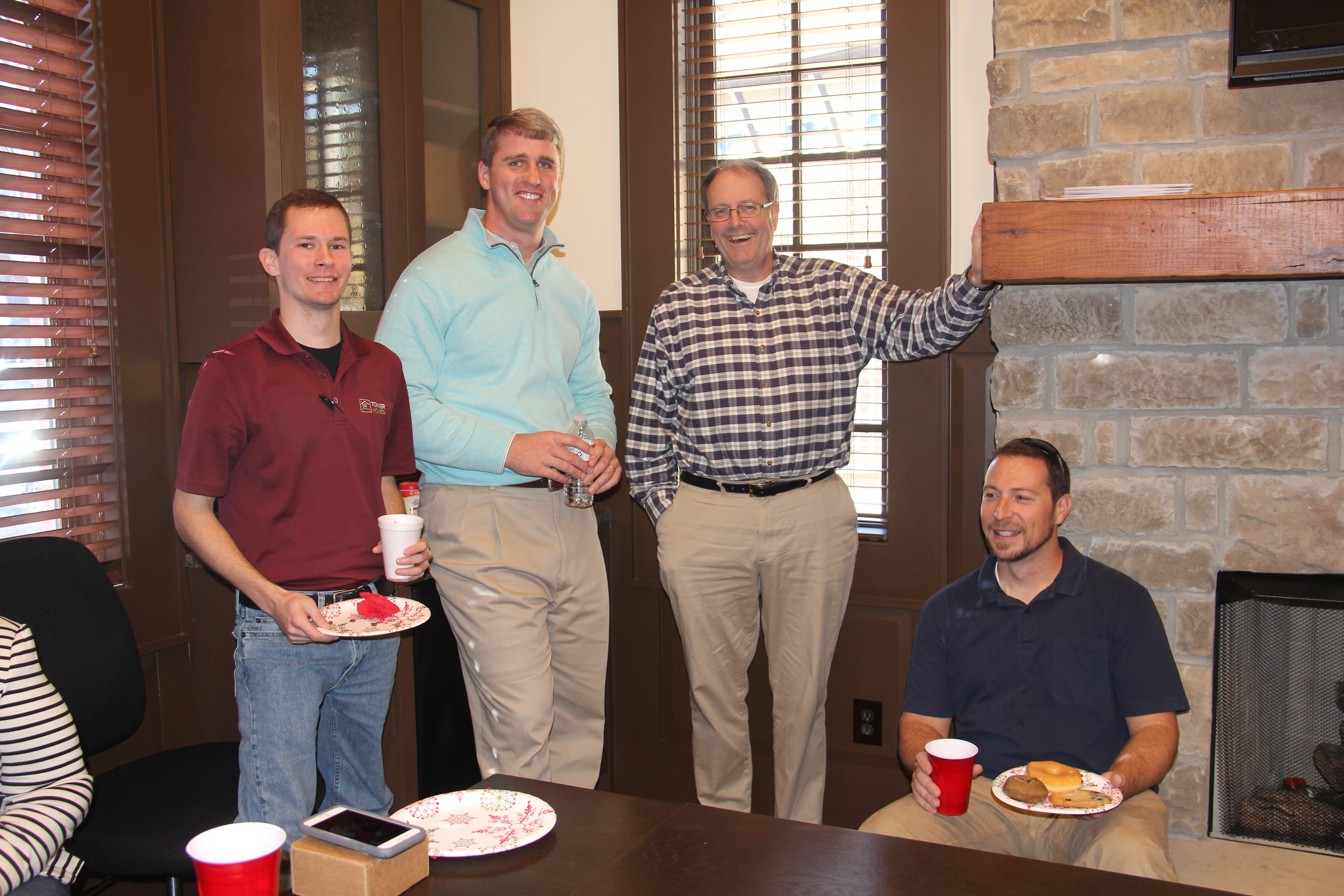 The Tower Team Zac Meadows ESTIMATOR Clint Johnston VICE PRESIDENT Richard
