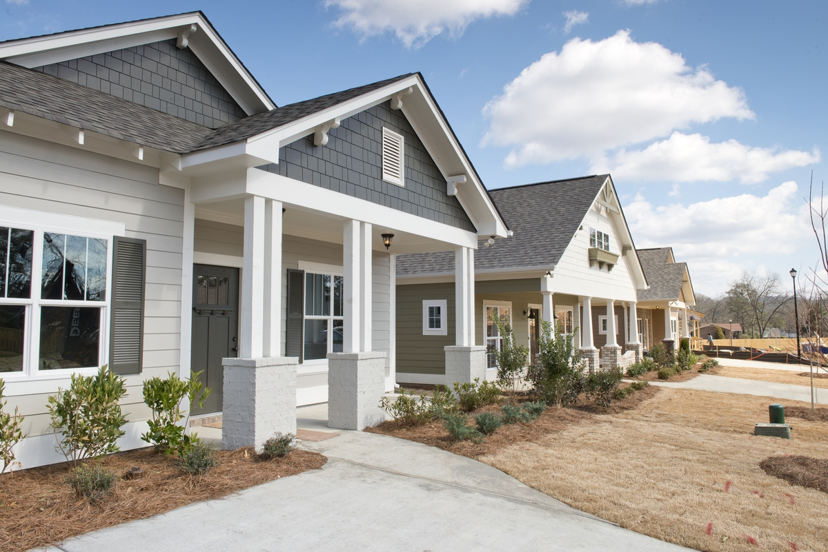 Community Of New Homes In Montevallo Park By Tower