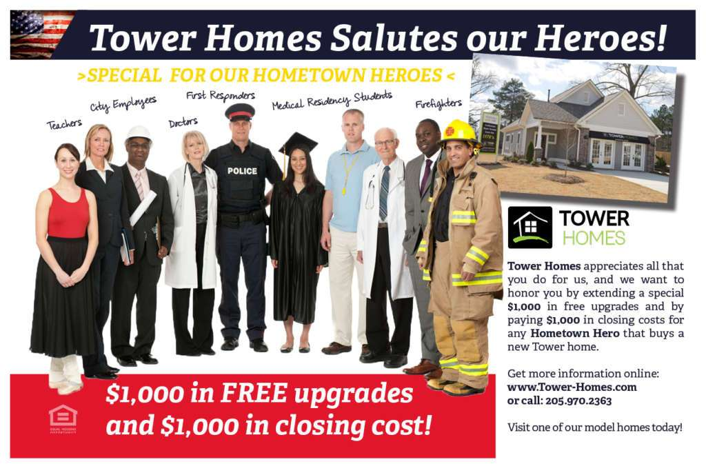 Hometown Heroes Special from Tower Homes