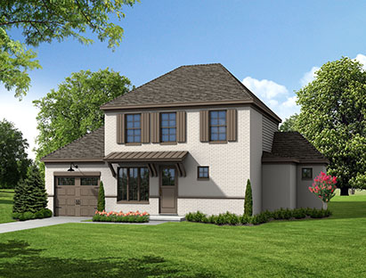 Tower Homes - Brooke's Crossing - Benton Plan