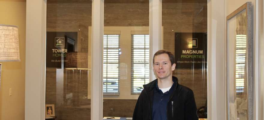 Tower Homes office renovation leader, Zac Meadows