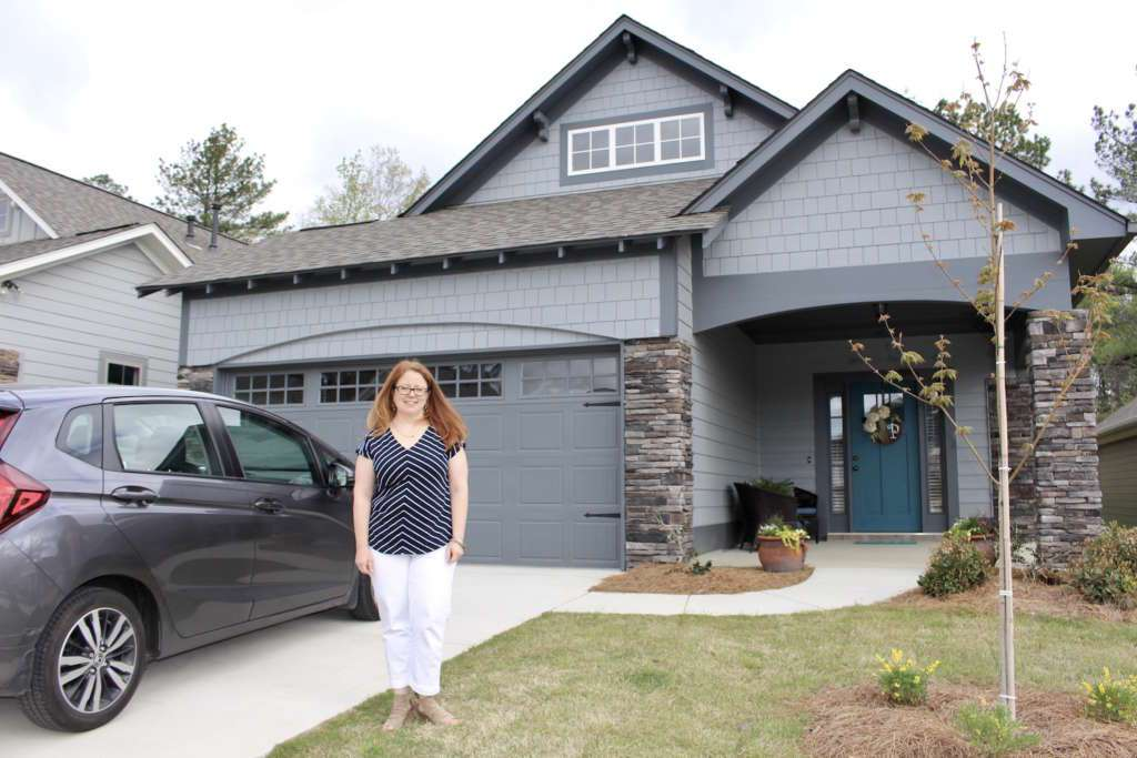 Looking for a new home in Irondale? She found Montevallo Park by Tower Homes