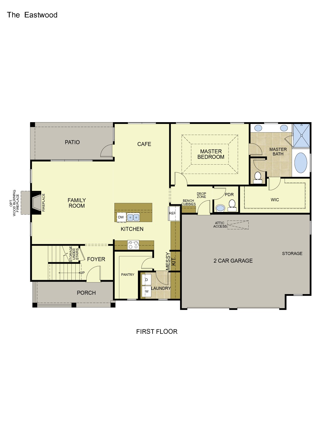 Eastwood Modern Farmhouse Collection Tower Homes