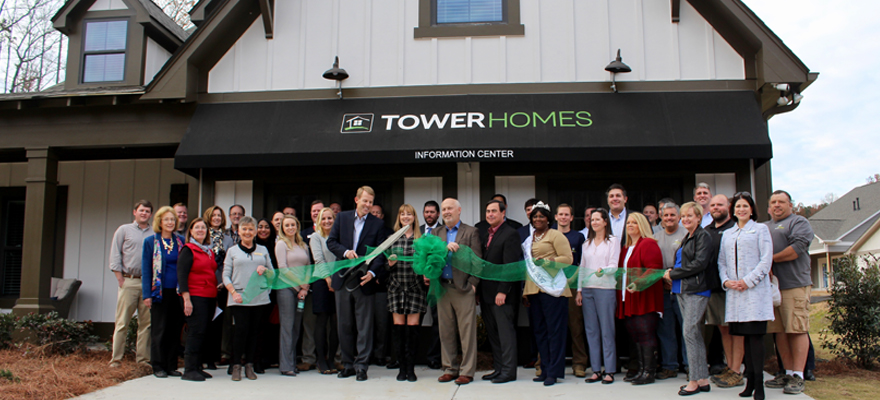 Tower Homes_Grants Mill Valley_Ribbon Cutting