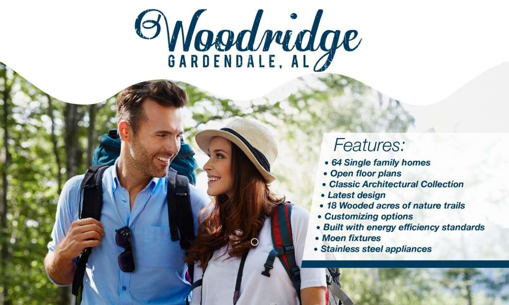 Woodridge Brochure - New single family home community in Gardendale