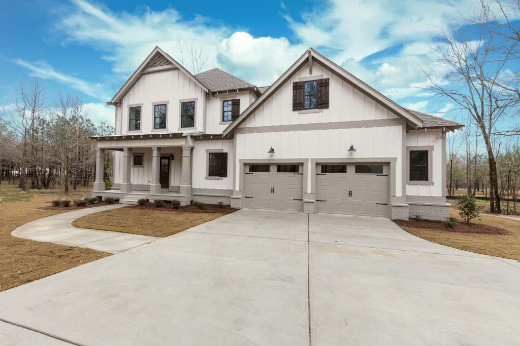 Cahaba Farms exterior - New executive style homes in Trussville by Tower Homes