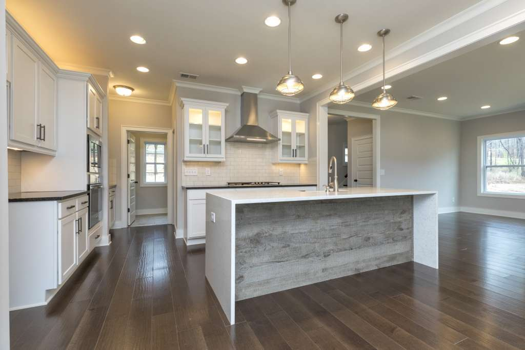 Cahaba Farms open concept kitchen floor plan - Trussville AL