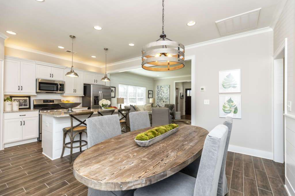 A kitchen in a new Oxmoor Village home