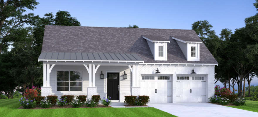 A fairmont plan home at The Ridge at Grants Mill Crossing