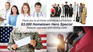 3000 hometown heroes incentive