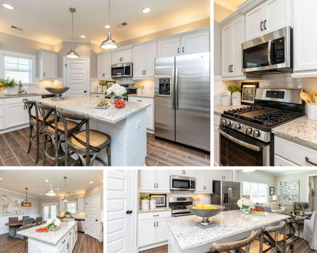 The inspired kitchen in the new designer home in Irondale Edward