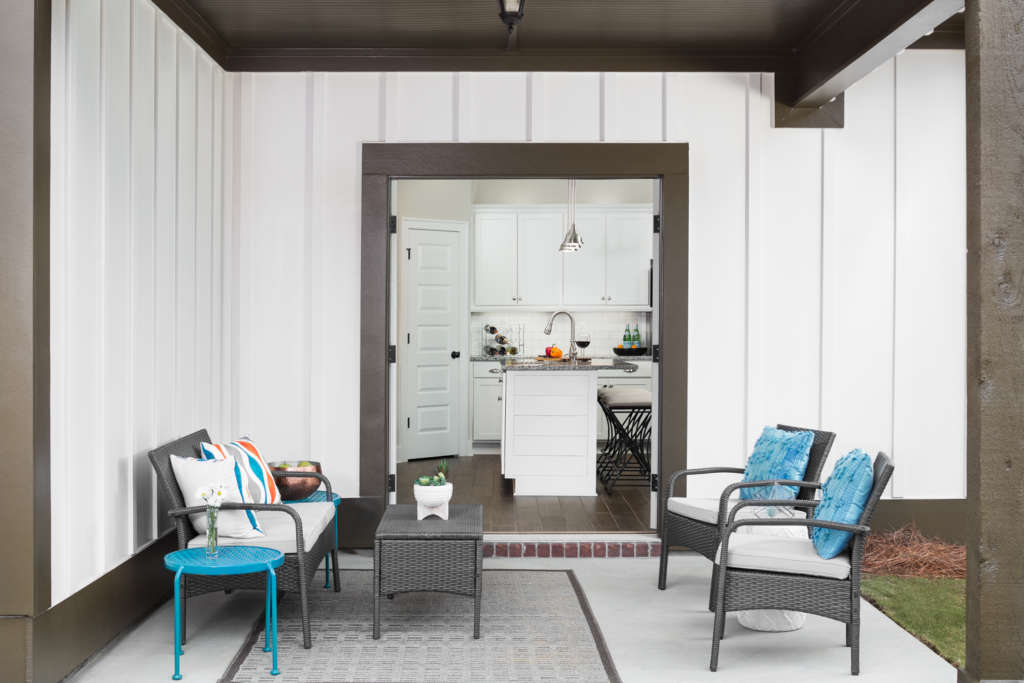 The Halcyon model porch Trussville