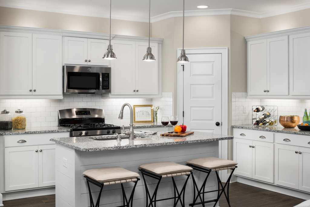 a kitchen like those in the Halcyon homes