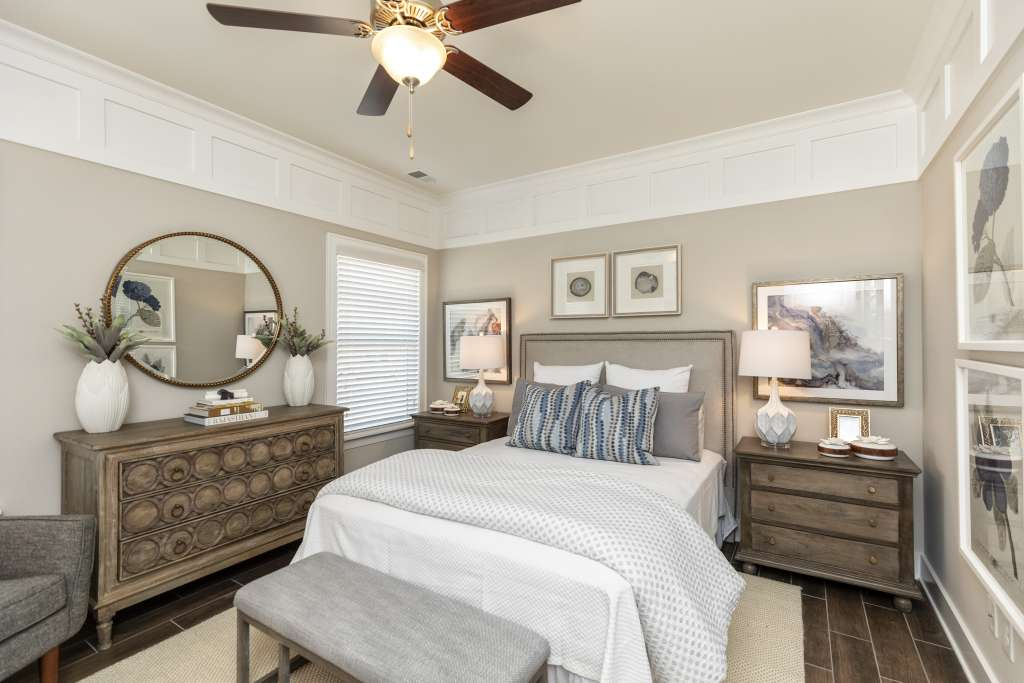 bedroom style for life in a Birmingham home
