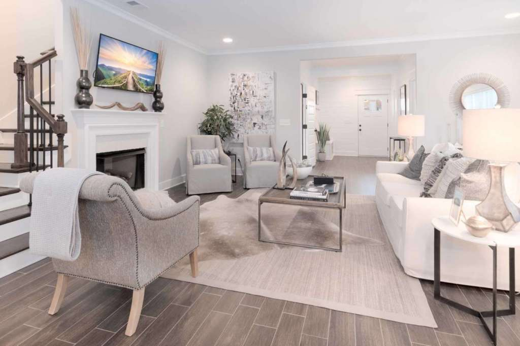 a family room in Halcyon in Trussville